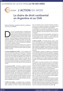 Chaire argentine chili