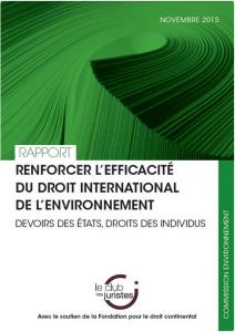 Droit environnement