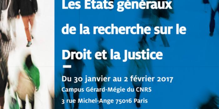 Intervention de Laure Bélanger, Directrice générale de la Fondation aux Etats généraux de la recherche sur le droit et la justice