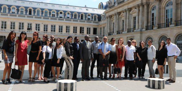 Visite du Conseil Constitutionnel