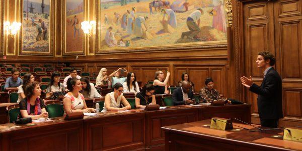 Visite du Conseil d'Etat